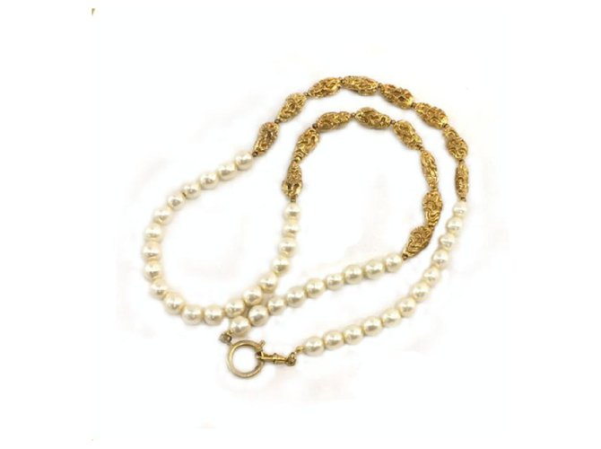 Chanel Pearl necklace Necklaces Pearl Other ref.286714