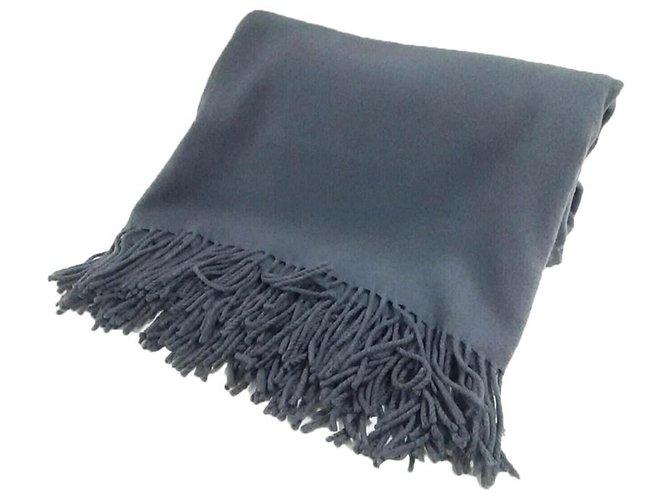 Hermès scarf Grey Wool  ref.287367