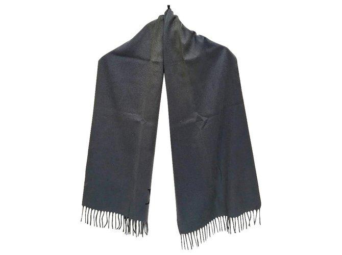 Twist Louis Vuitton Scarf Grey Wool  ref.287377