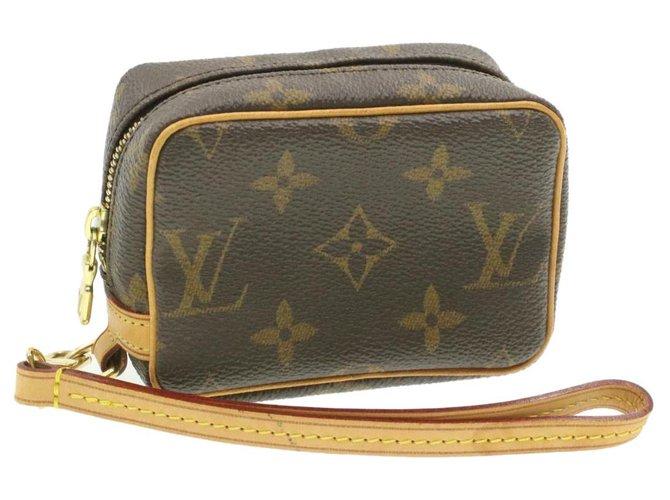 Louis Vuitton LOUIS VUITTON Monogram Trousse Wapity Pouch M58030 LV Auth ki565 Clutch bags Cloth Other ref.288166