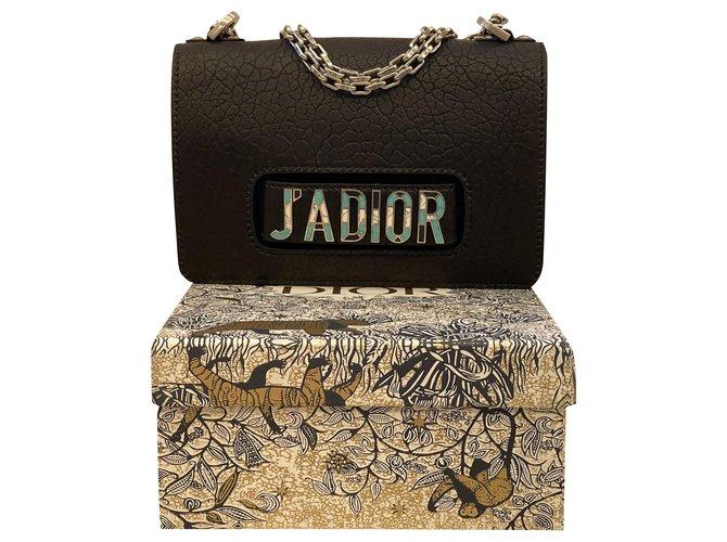 Christian Dior Dior J'ADIOR shoulder bag Handbags Lambskin Black ref.288297