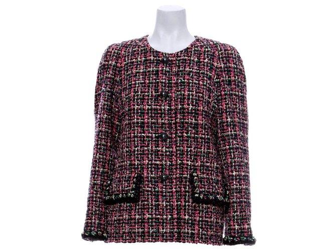 Chanel 8,5K$ NEW 2019 Tweed jacket Jackets Tweed Multiple colors ref.289194