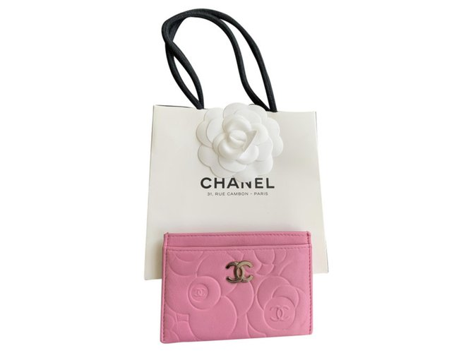 Chanel Purses, wallets, cases Purses, wallets, cases Leather Pink ref.289251