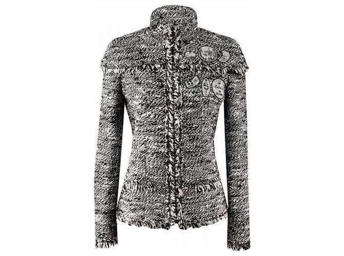 Chanel Iconic Le Makeup Jacket Jackets Tweed Multiple colors ref.289349