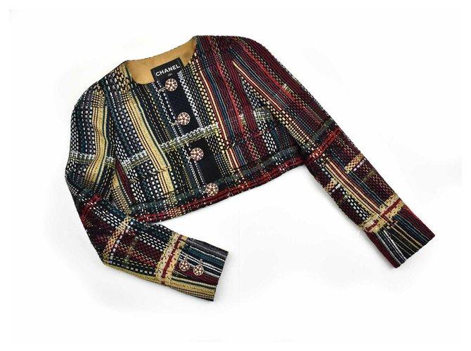 Chanel 7K$ Paris-Dubai jacket Multiple colors Tweed  ref.293037