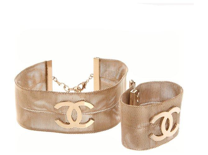Chanel Jewellery sets Gold hardware Metal  ref.293139