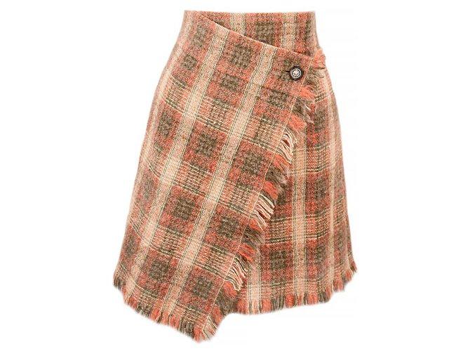 Chanel CollectorsParis-Edinburgh Skirt Multiple colors Tweed  ref.295285