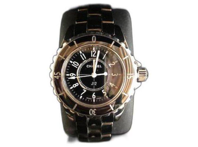 Chanel J12 Fine watches Ceramic Black ref.295983