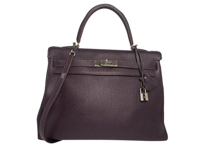 Hermès hermes kelly 35 Leather  ref.296215