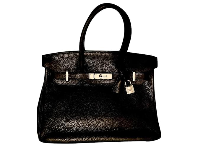 Hermès Birkin 30 Cuir Noir  ref.301982