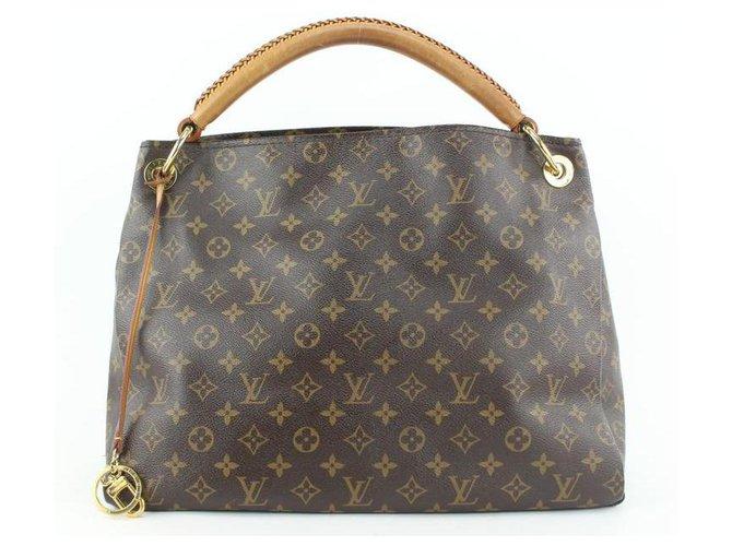 Louis Vuitton Monogram Artsy MM Hobo Bag Leather  ref.307799