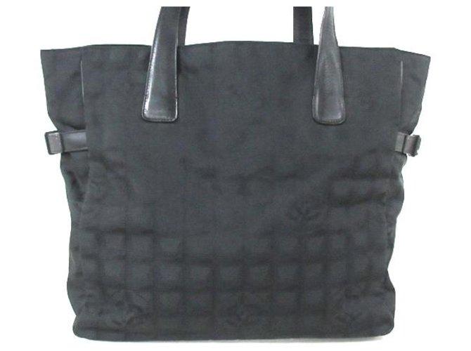 Chanel Travel line Black Leather  ref.309987