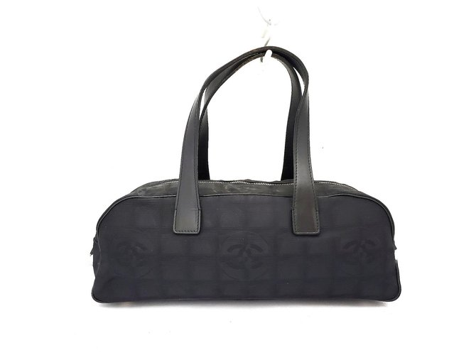 Chanel Travel line Black Synthetic  ref.312362