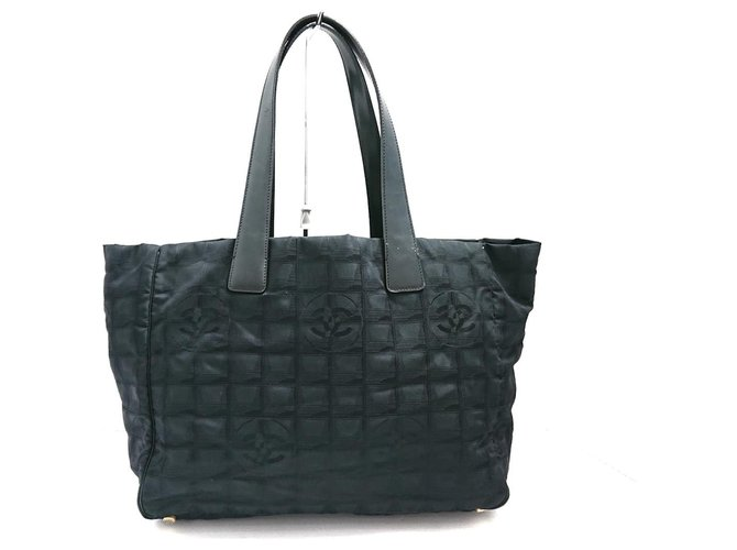 Chanel Travel line Black Synthetic  ref.312396