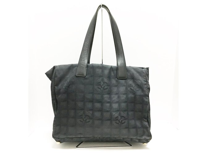 Chanel Travel line Black Synthetic  ref.312407