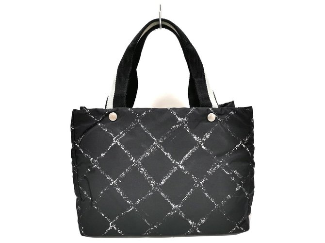 Chanel Travel line Black Synthetic  ref.312410