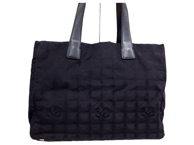 Chanel Travel line Black Synthetic  ref.312426