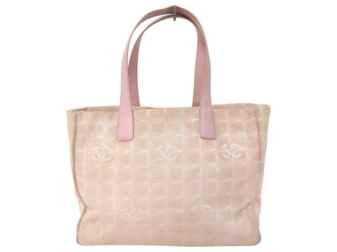 Chanel Travel line Pink Synthetic  ref.312430