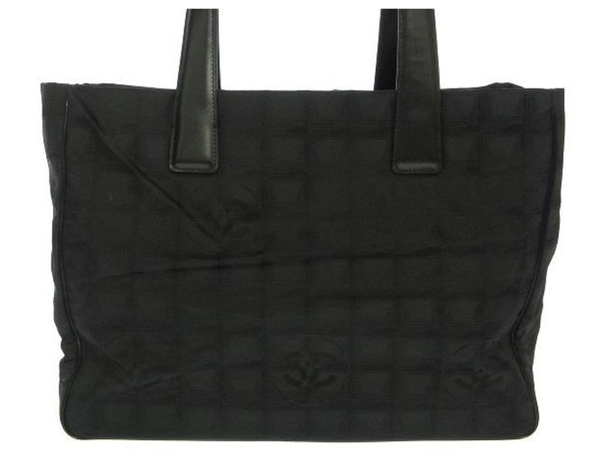 Chanel Travel line Black Synthetic  ref.312580