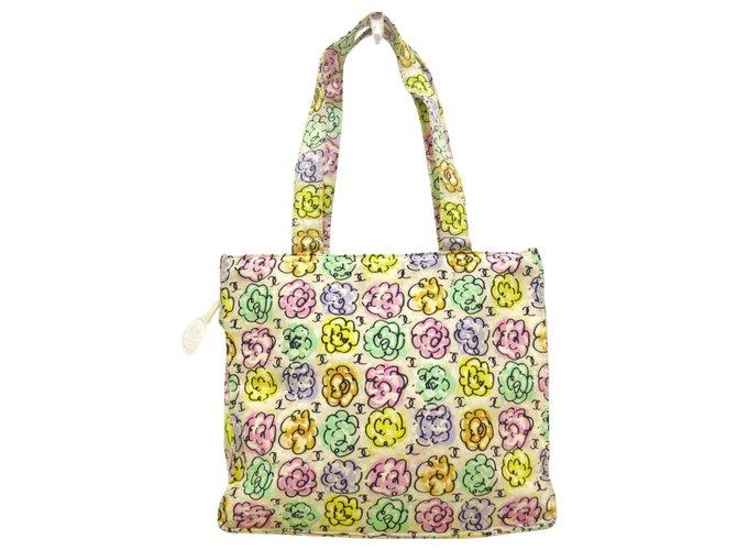 Chanel tote bag Multiple colors Cotton  ref.312588