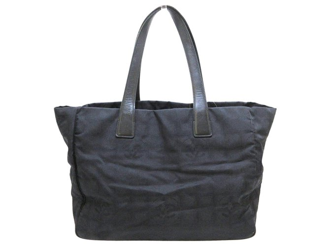 Chanel tote bag Black Synthetic  ref.312600