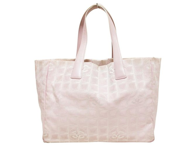 Chanel Travel line Pink Synthetic  ref.316979