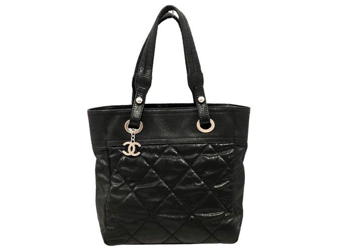 Chanel Paris Biarritz Black Cloth  ref.320695