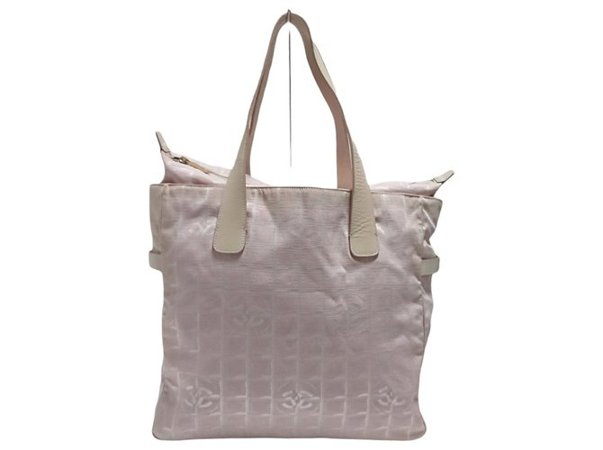 Chanel Travel line Pink Synthetic  ref.326294