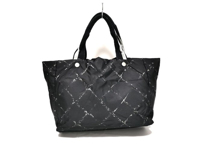 Chanel Travel line Black Synthetic  ref.326621