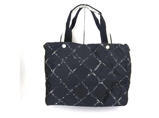 Chanel Travel line Black Synthetic  ref.326795