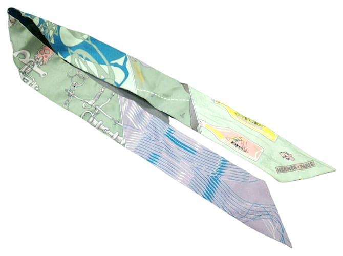 Hermès scarf Multiple colors Silk  ref.333900