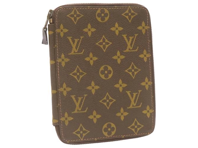 Étui à passeport monogramme LOUIS VUITTON Vintage LV Auth 23841 Toile  ref.334645