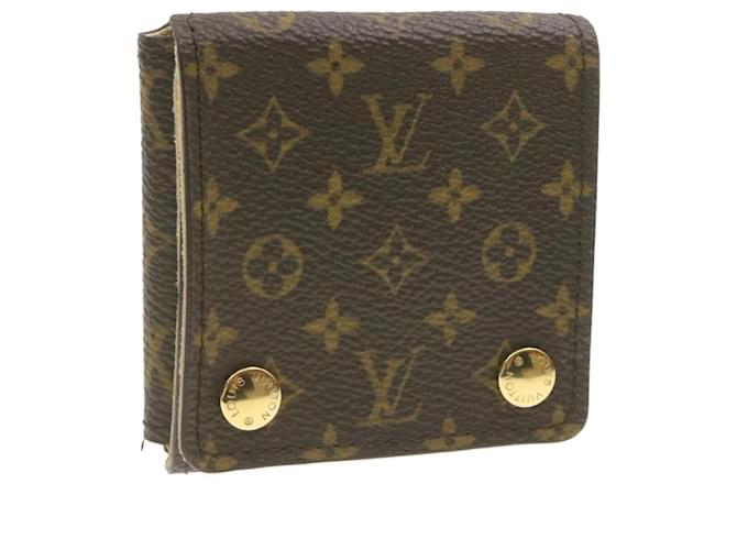 LOUIS VUITTON Monogram Boîte à Bijoux LV Auth br287 Toile  ref.335119