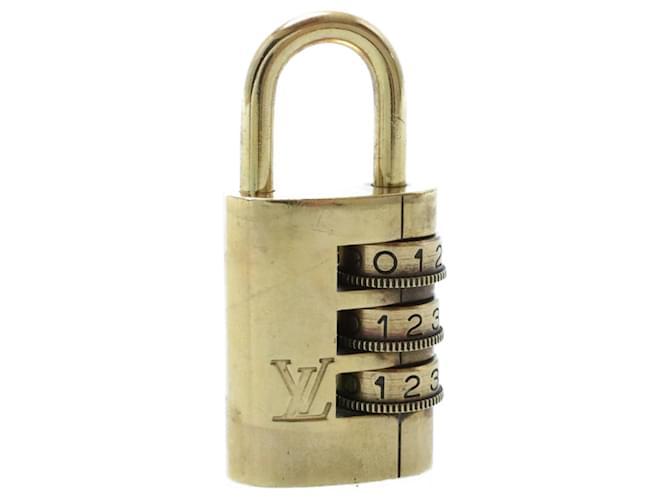 Cadenas à cadran LOUIS VUITTON [000] Ouvrir l'authentification LV 13673 Doré  ref.335784