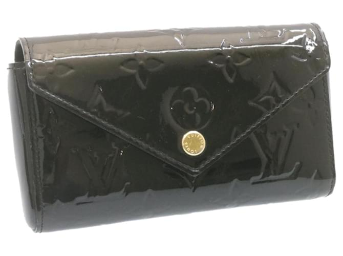 Louis Vuitton lucie Black Patent leather  ref.339407