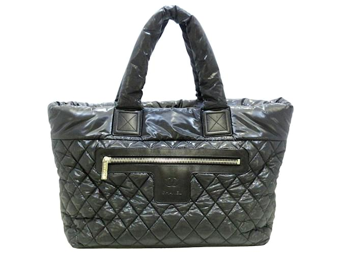 Chanel COCO COCOON Black Synthetic  ref.339902