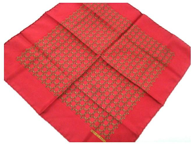 Hermès scarf Red Silk  ref.342492