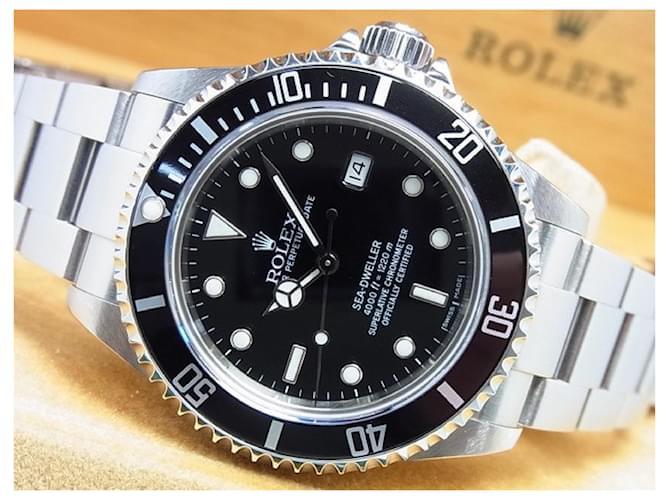 ROLEX Sea-Dweller Ref.16600 F series Mens Black Steel  ref.348718