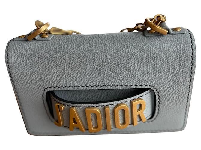 Christian Dior Handbags Blue Leather  ref.355078