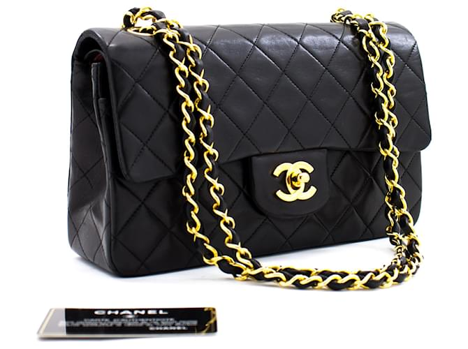 Chanel Classic Flap Black Leather  ref.359821