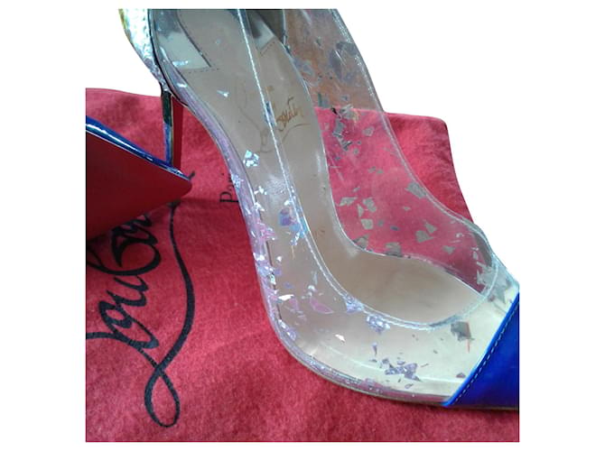 Christian Louboutin Heels Patent leather  ref.362857