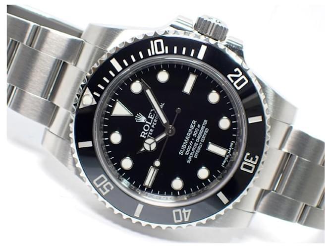 ROLEX Submariner No-Date Ref.114060 Genuine goods Mens Black Steel  ref.364174