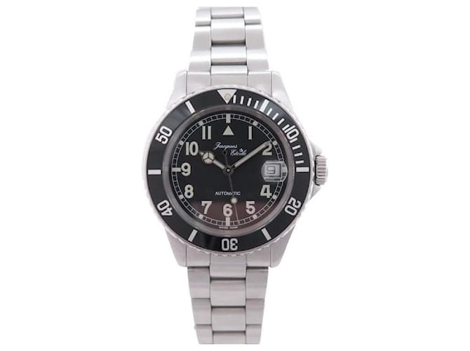 Autre Marque NEW JACQUES ETOILE AUTOMATIC DIVING WATCH 40 MM STEEL PALLADIE DIVING WATCH Silvery  ref.365268