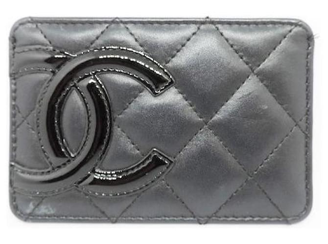 Chanel Cambon Black Leather  ref.369512