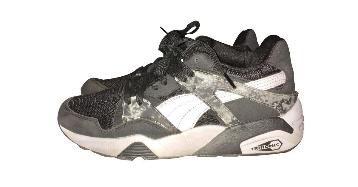 Baskets Puma Puma Trinomic Black Autre Noir ref.31165
