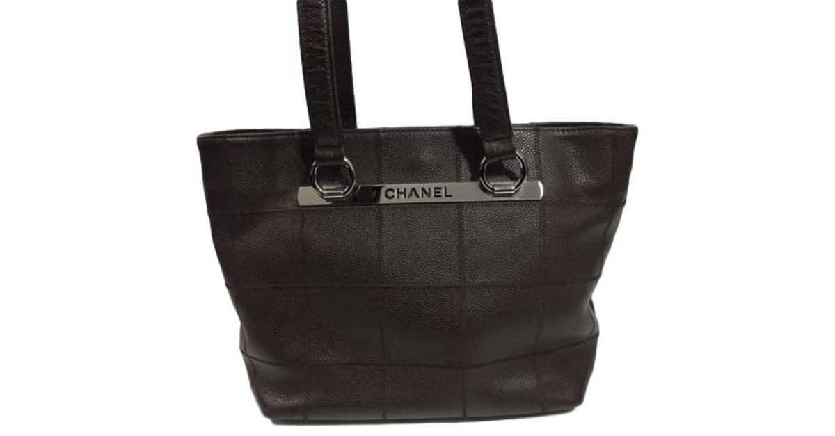 870aa0f6a700 Chanel Handbag Handbags Leather Brown ref.44786 - Joli Closet