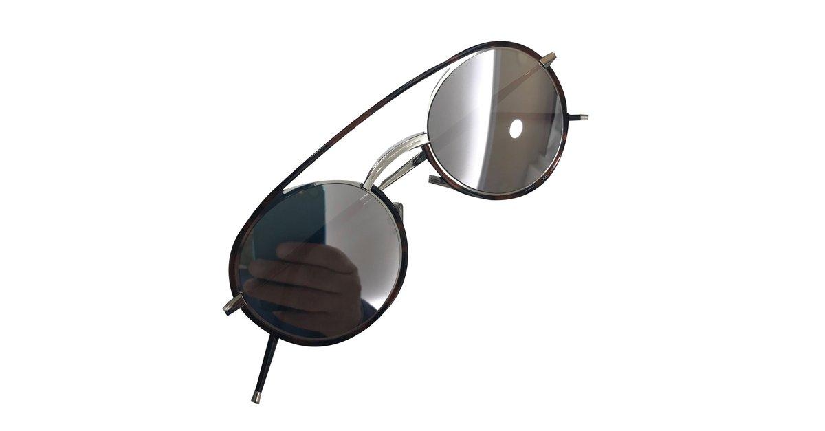 793182676b1 Christian Dior Dior Synthesis 01 Sunglasses Metal Brown ref.55186 - Joli  Closet