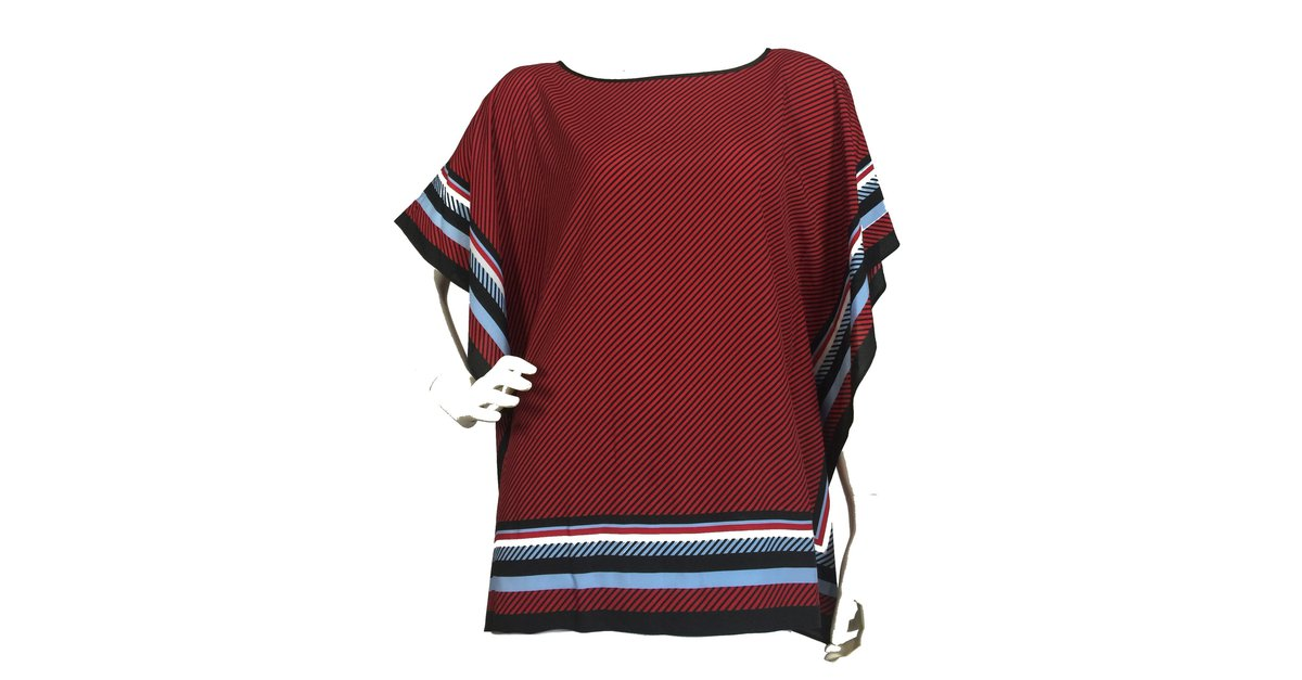 eb8bf156d107 Michael Kors Poncho top Tops Polyester Multiple colors ref.72872 - Joli  Closet