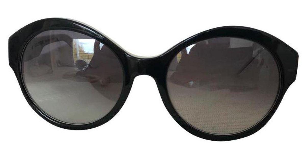 Courrèges Eyewear Lunettes De Soleil à Monture Oversize