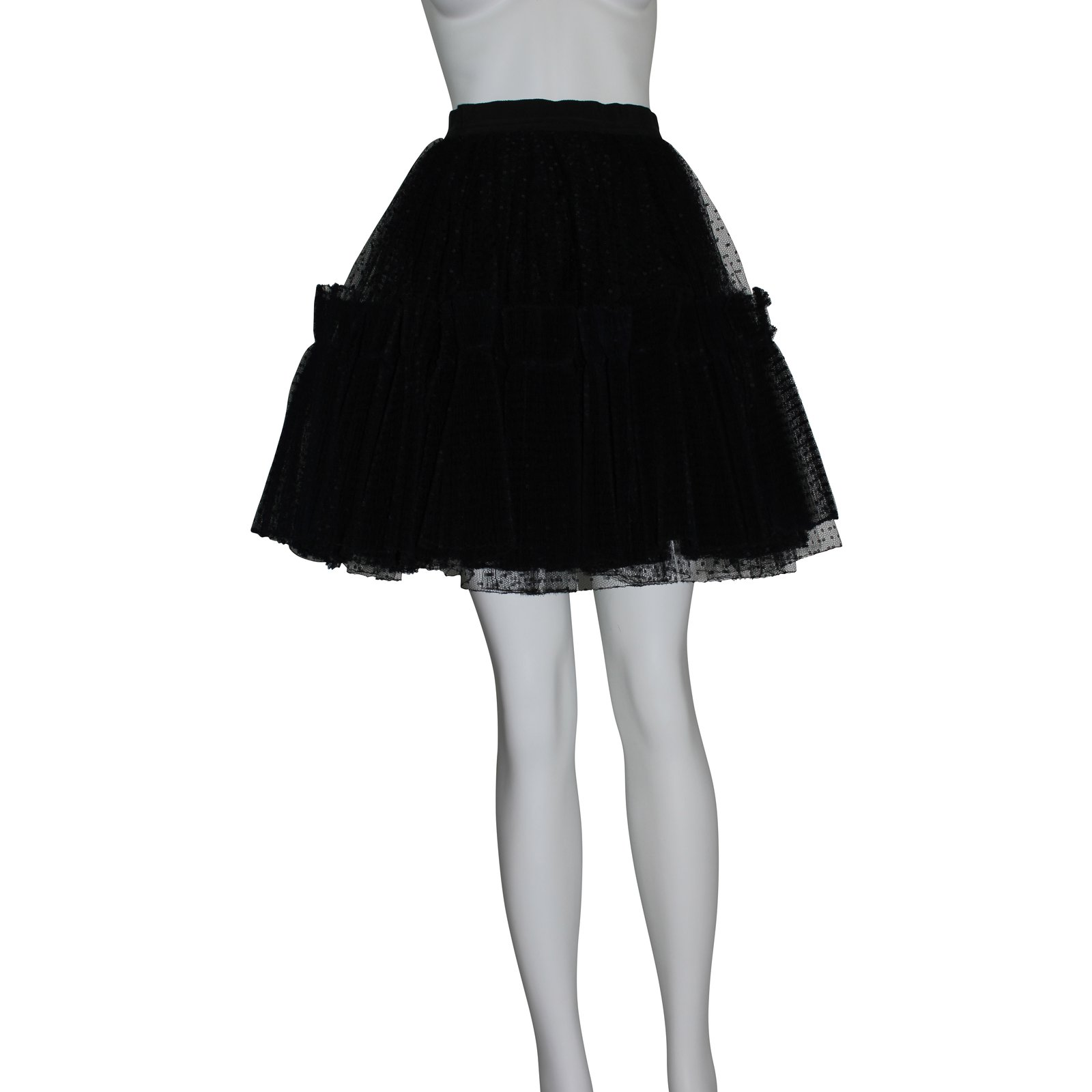 jupes christian lacroix jupe en tulle tulle noir joli closet. Black Bedroom Furniture Sets. Home Design Ideas